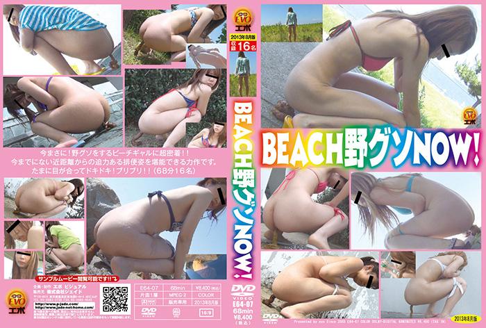 [E64-07] Beach Pooping 野グソ スカトロ 脱糞