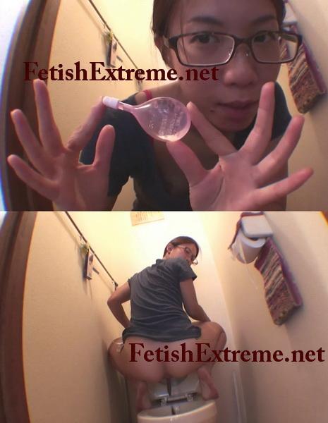 [JG-167] 素人投稿 自画撮りシリーズ086 浣腸排泄 124分 自我 スカトロ Pooping girls self filmed