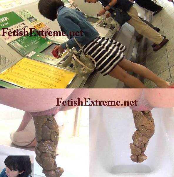 [FF-057] 街で見かけた女のウンコ Pooping in Tokyo 109分 スカトロ ジェイド