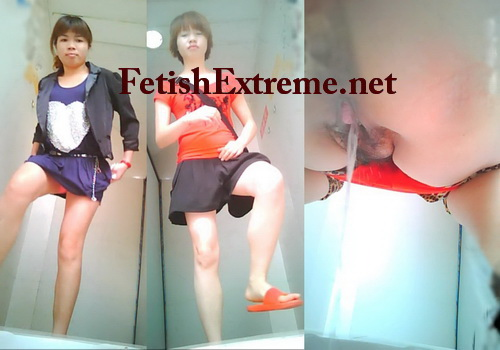 ChinaVoyeur Toilet Spy Cam B461-480 (Peeing spy cam shots of cute girls on a toilet)