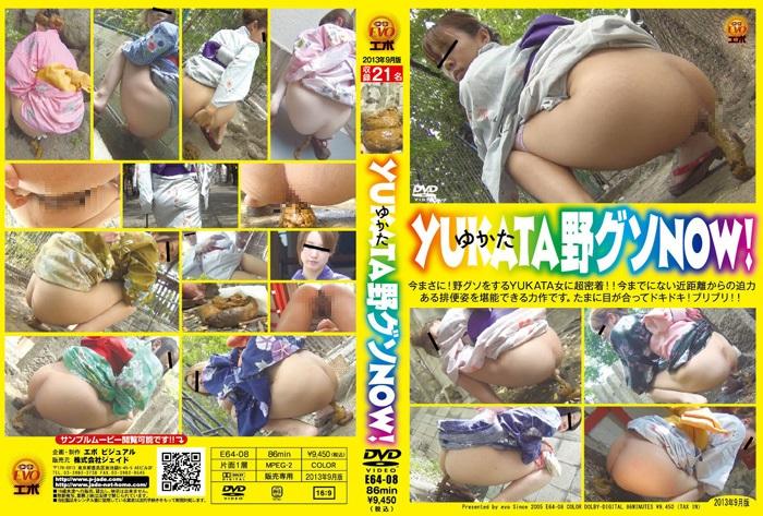[E64-08] 野グソ エボ・ビジュアル 脱糞 Perfect Geisha pooping a lot