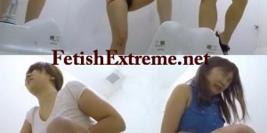 [FF-075] 5カメ盗撮 図書館女の長ーいウンチ ジェイド Diarrhea Girls on Toilet Spy Cam